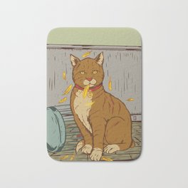 The Cat That Ate the Canary Bath Mat
