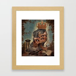 The Cursed Emperor Framed Art Print