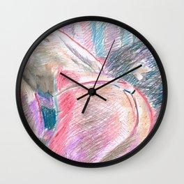 Chouchou 3 Wall Clock