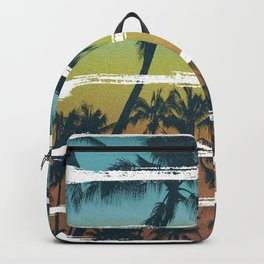 Tropical Brush Strokes II Backpack