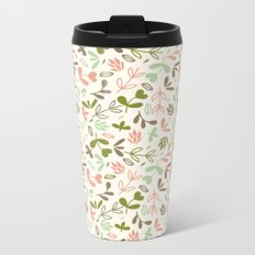 Colorful Lovely Pattern XIV Metal Travel Mug