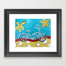 Let's Go for a Ride! Framed Art Print