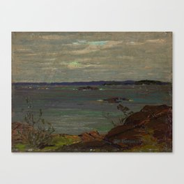 Tom Thomson Grey Day, Giant's Tomb 1914 Canadian Landscape Artist Canvas Print