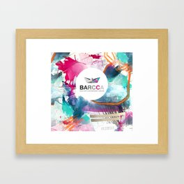 BARCCA by leo tezcucano 2 Framed Art Print