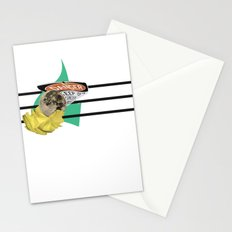 we're the extraterrestrial life going to destroy everything Stationery Cards