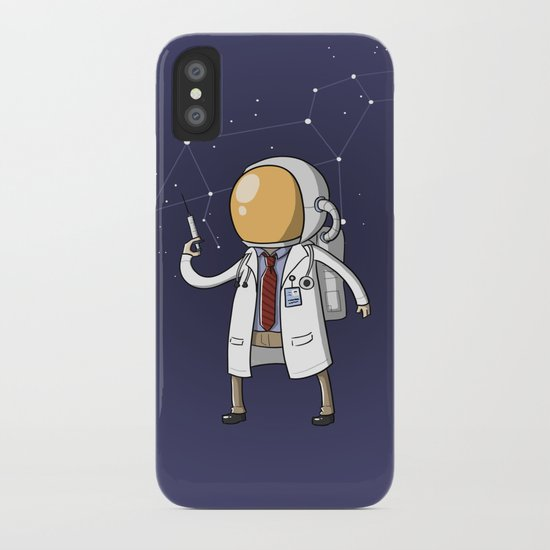 Dr. Spaceman iPhone Case
