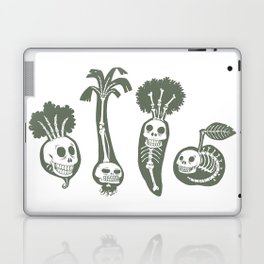 X-rays vegetables (white background) Laptop & iPad Skin