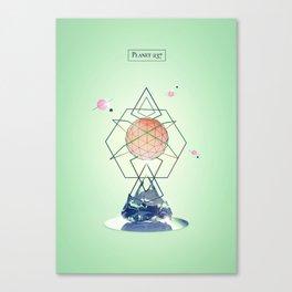 Planet 237 Canvas Print