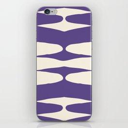 Zaha Ultra Violet iPhone Skin