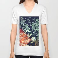 kids V-neck T-shirts featuring kids by Shelby Claire
