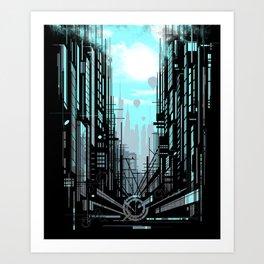 Urban Memories Art Print