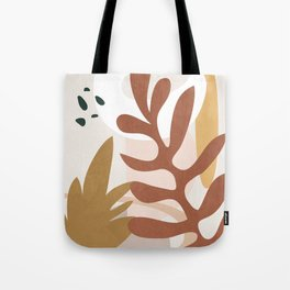 Abstract Plant Life II Tote Bag