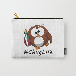 #ChugLife Drunk Owl Carry-All Pouch