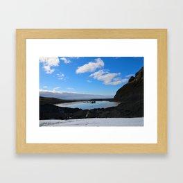 Icelandic Reflection Framed Art Print