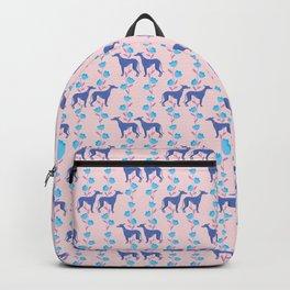 Lavender Greyhounds Backpack