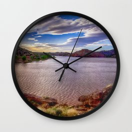 Lyman Lake - Arizona Wall Clock