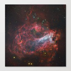 Sagittarius Star Factory Messier 17  Canvas Print