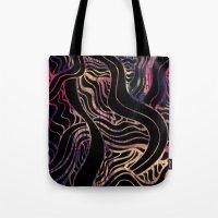 dark souls Tote Bags featuring Souls III by Elle Major