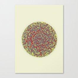 Spherical Displacement Canvas Print