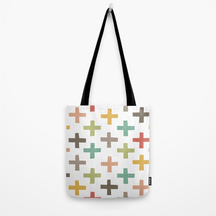 CRISSCROSSED Tote Bag