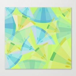Citrus Blue Canvas Print