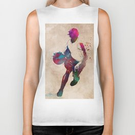 basketball player #basketball #sport Biker Tank