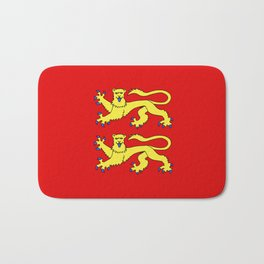 flag of normandie Bath Mat