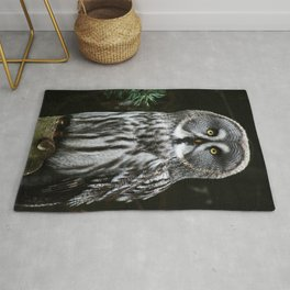The Great Grey Owl Rug