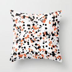 Because of the rain Throw Pillow