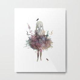 second nature Metal Print