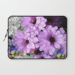 Daisies from the Galaxy Laptop Sleeve