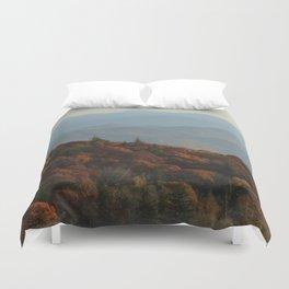 Blue Ridge Mountains Duvet Cover