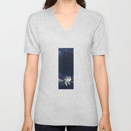 Travel in space Unisex V-Neck