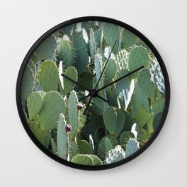 Prickly Jungle Wall Clock