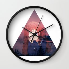 VACATION 2 - SAD JAPANESE ANIME AESTHETIC Wall Clock