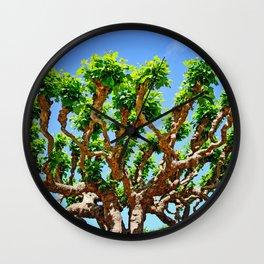 Gnarly Tree Of San Francisco Wall Clock