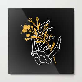 Grow or Die Metal Print