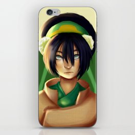 The Blind Bandit - Toph iPhone Skin