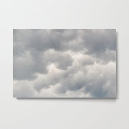 A bunch of rainy clouds Metal Print
