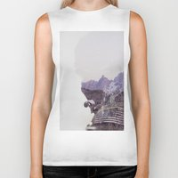 the national Biker Tanks featuring National Guard by PecDesign