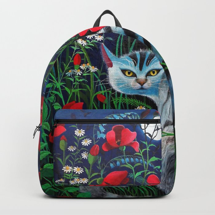 Cat in the Night Backpack