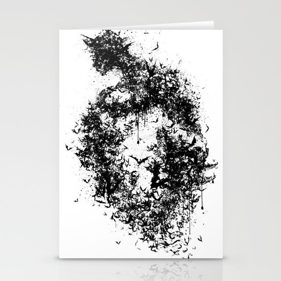A Dark Cave Stationery Cards