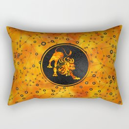Leo Zodiac Fire element Rectangular Pillow