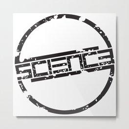 Circle Logo Metal Print