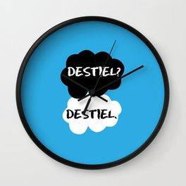 Destiel - TFIOS Wall Clock