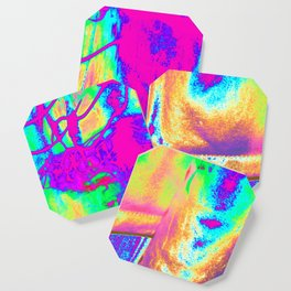 Technicolor Jacket Coaster
