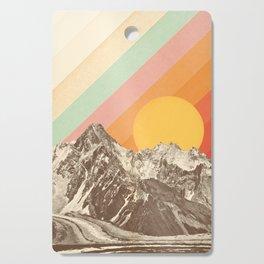 Mountainscape 1 Cutting Board