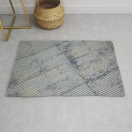 Warehouse District -- Rustic Farm Chic Abstract Rug