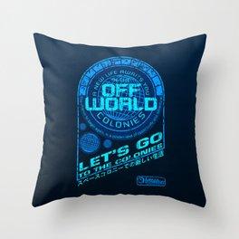 Off World Throw Pillow
