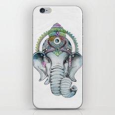 Ganesha Watercolor iPhone & iPod Skin